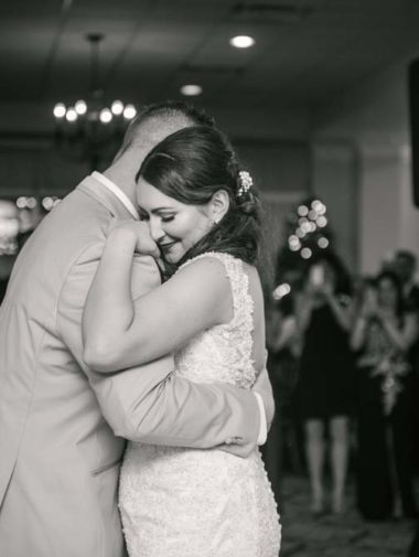 A Chic And Elegant Winter Wedding In Ontario - first dance