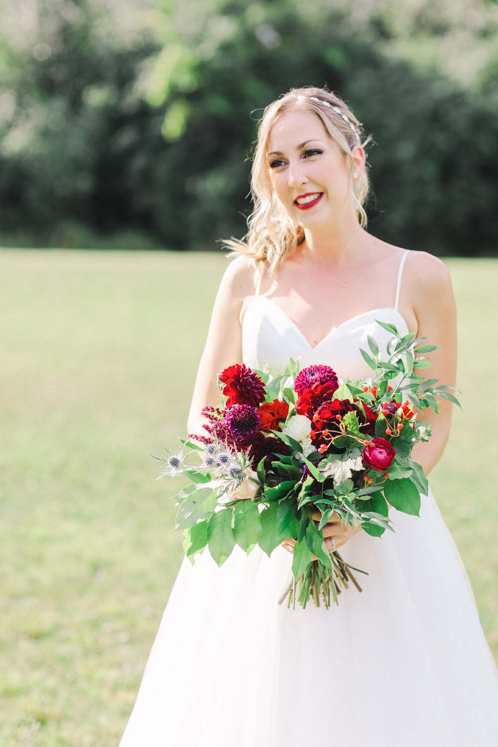 An Enchanting Vineyard Wedding in Ottawa - Bride