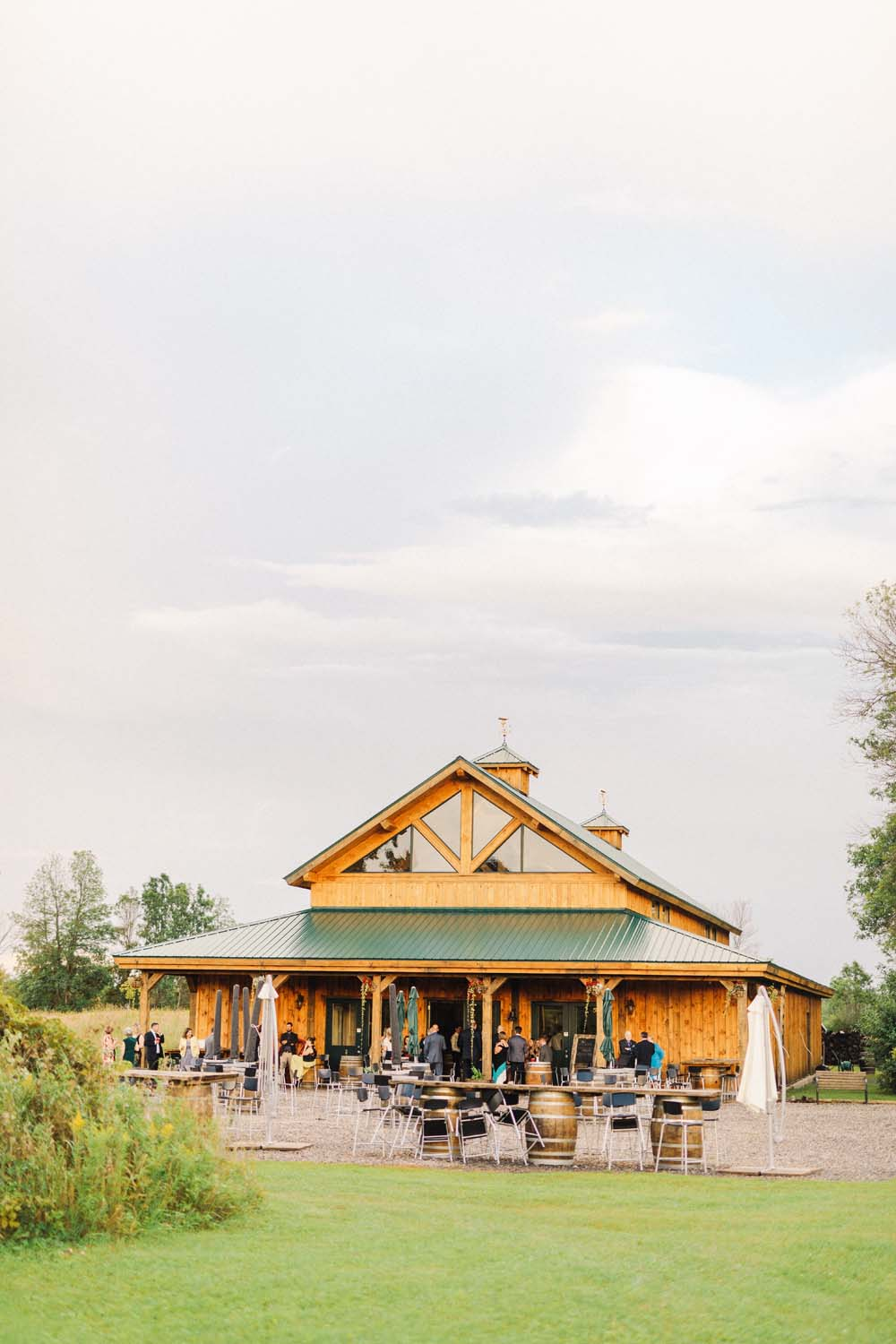 An Enchanting Vineyard Wedding in Ottawa - Reception venue