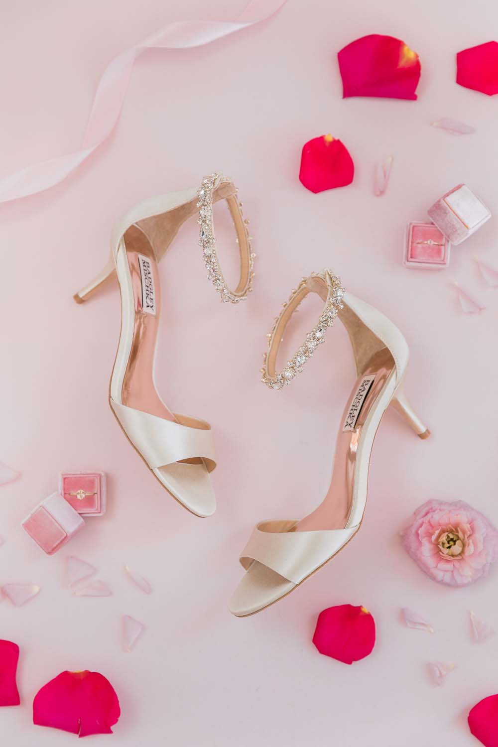 The Prettiest Romantic Pink Wedding Inspiration - bridal shoes