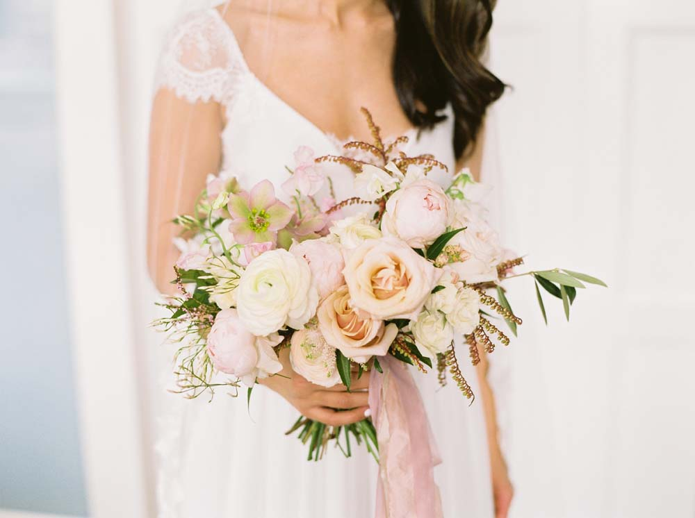 a timeless, romantic wedding in vancouver - bridal bouquet