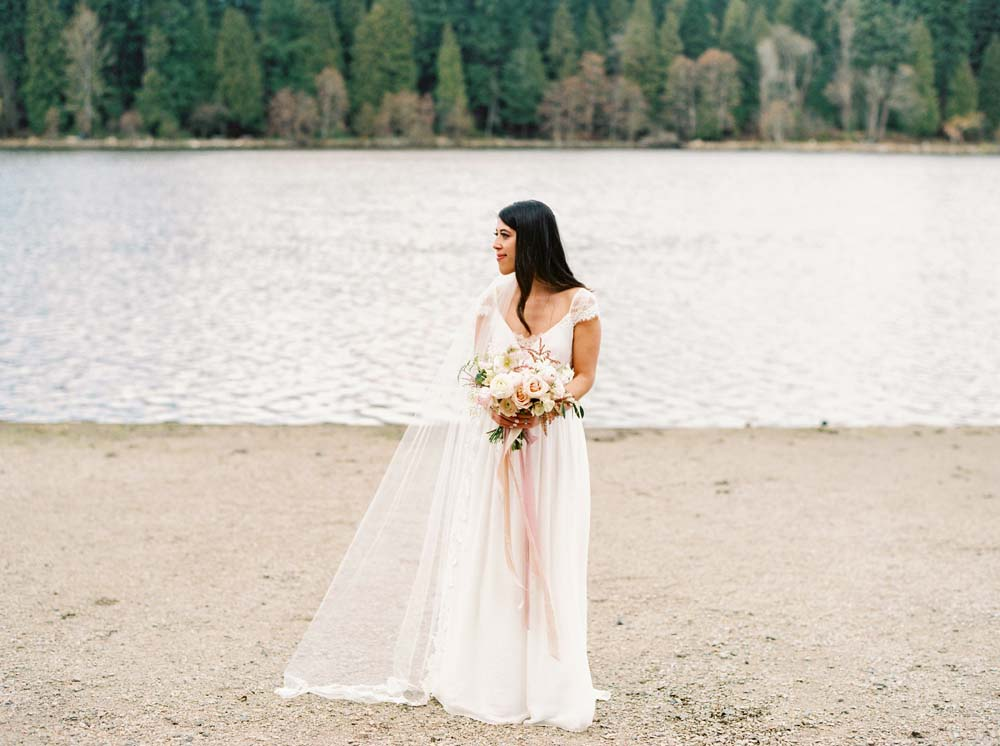 a timeless, romantic wedding in vancouver - bride