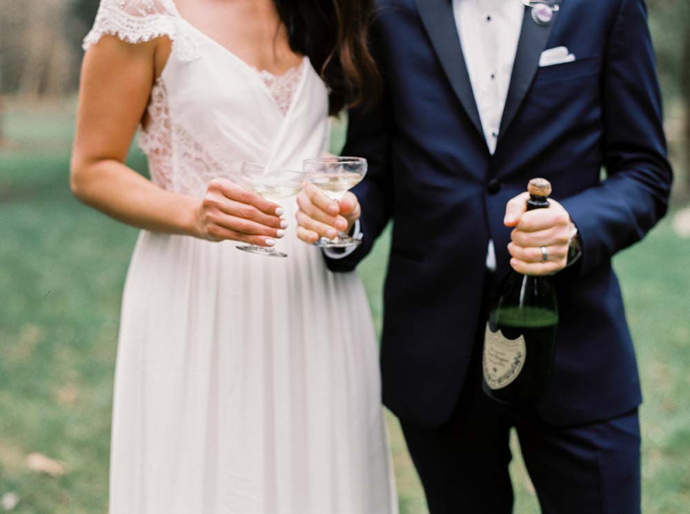 a timeless, romantic wedding in vancouver - bride and groom