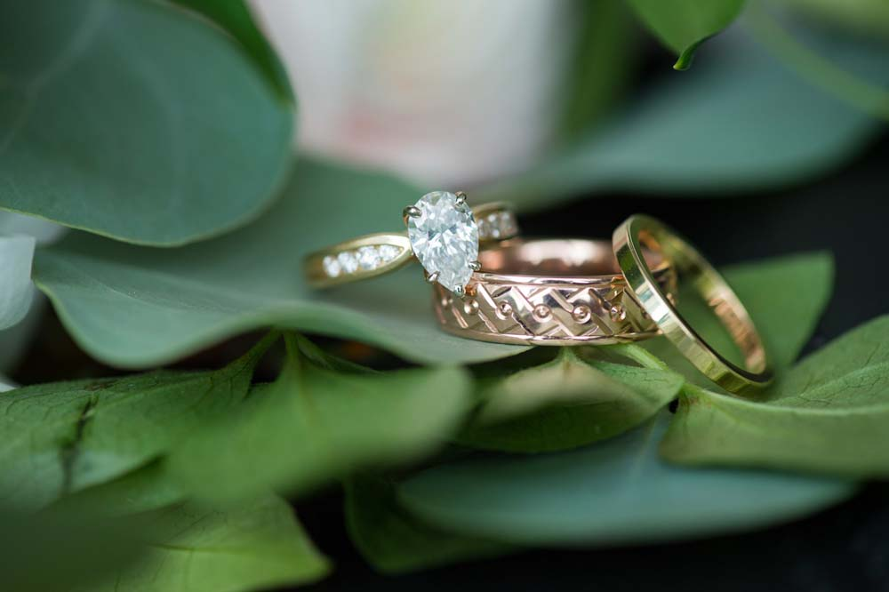 A Classic Vintage inspired Wedding at the One King West in Toronto - Wedding Rings