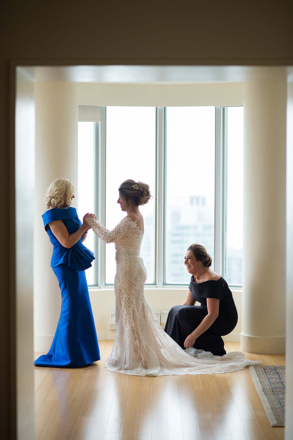 A Classic Vintage inspired Wedding at the One King West in Toronto - Mother and Bride