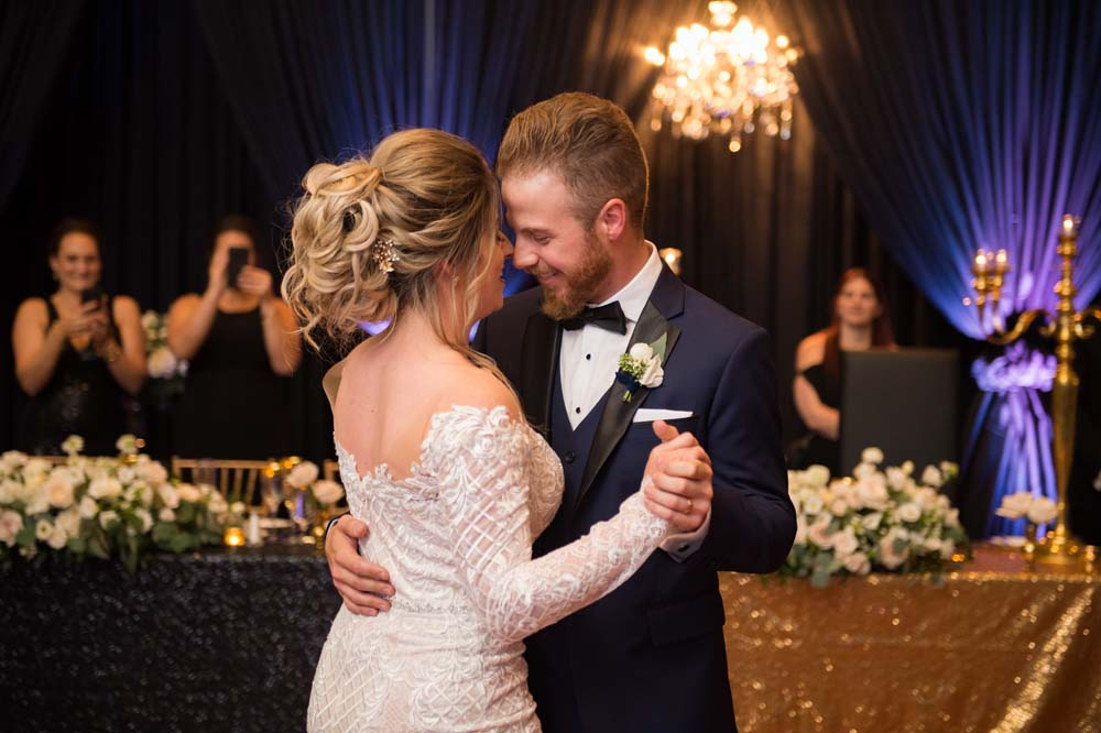 A Classic Vintage inspired Wedding at the One King West in Toronto - First Dance