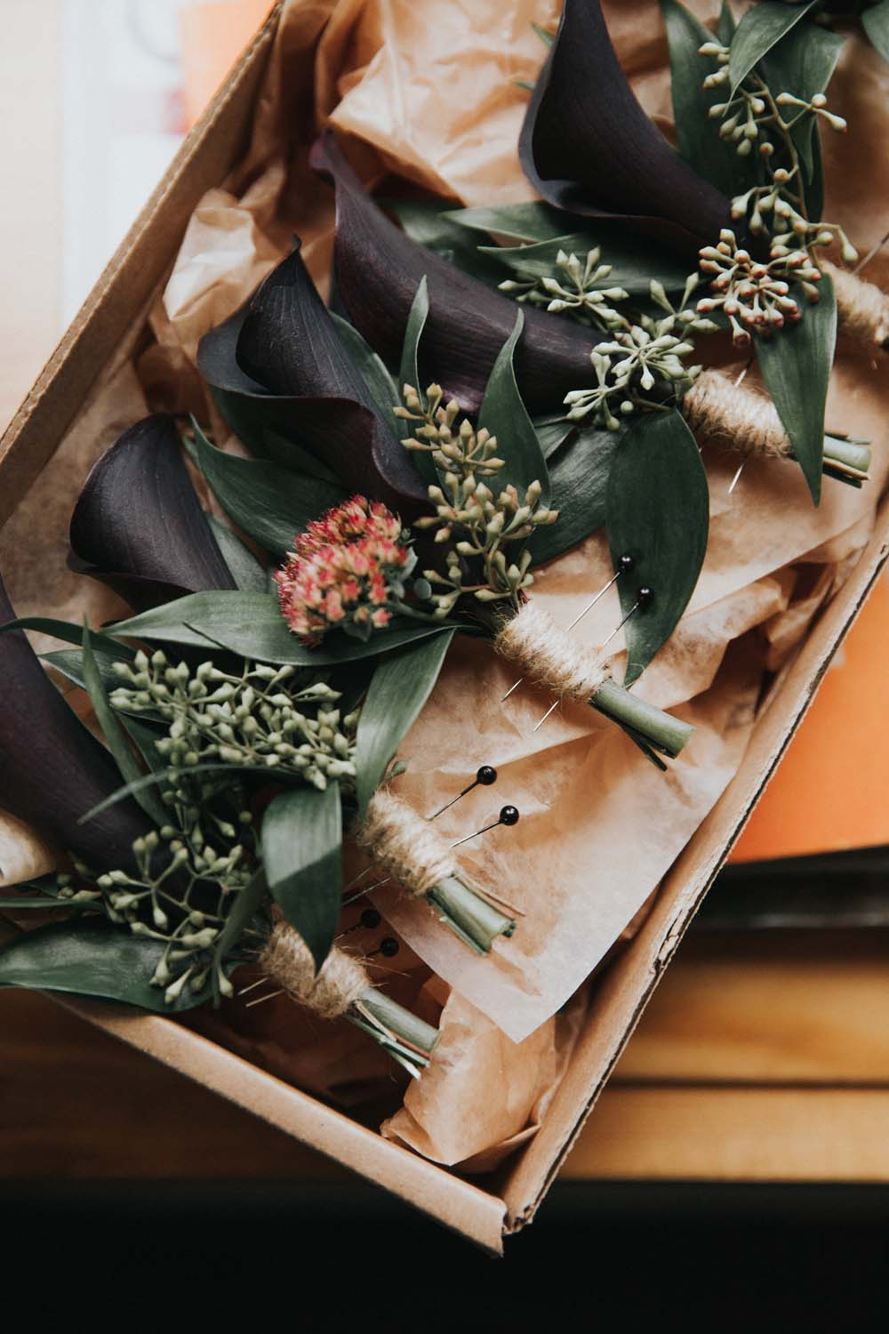 A magical fall wedding in Prince Edward County - Boutonnieres