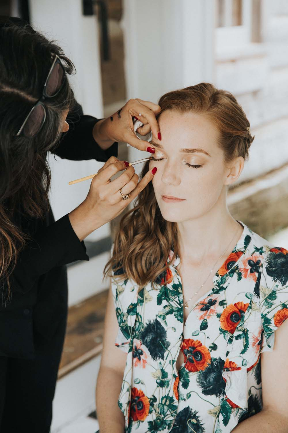 A magical fall wedding in Prince Edward County - Makeup