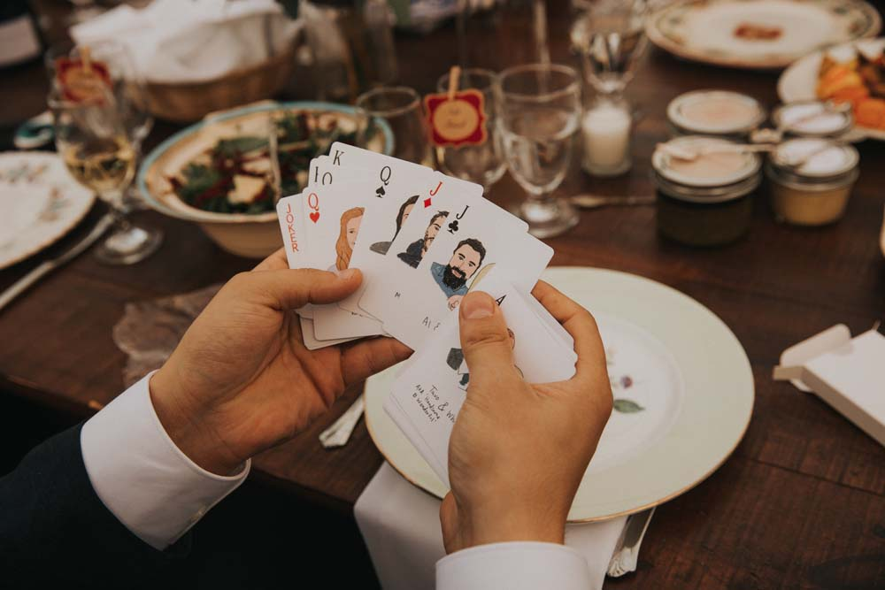 A magical fall wedding in Prince Edward County - Wedding favours
