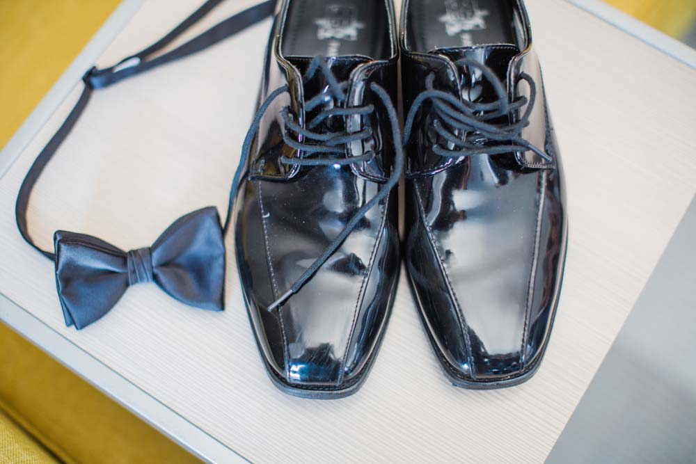 A Rustic, Whimsical Wedding in Tottenham - Shoes and tie