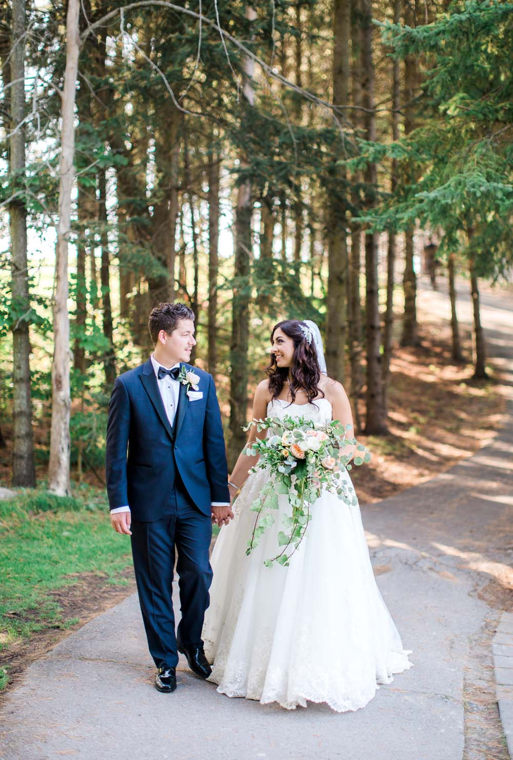 A Rustic, Whimsical Wedding in Tottenham - Bride and groom