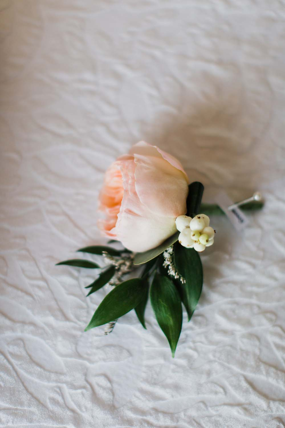 A Rustic, Whimsical Wedding in Tottenham - Boutonniere