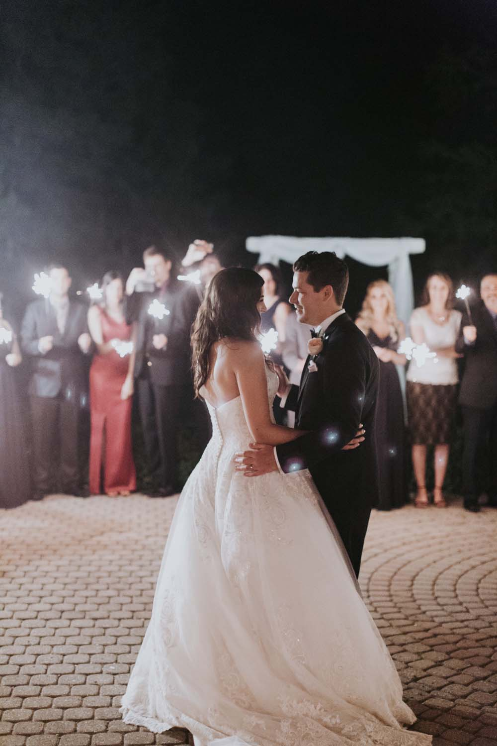 A Rustic, Whimsical Wedding in Tottenham - First dance
