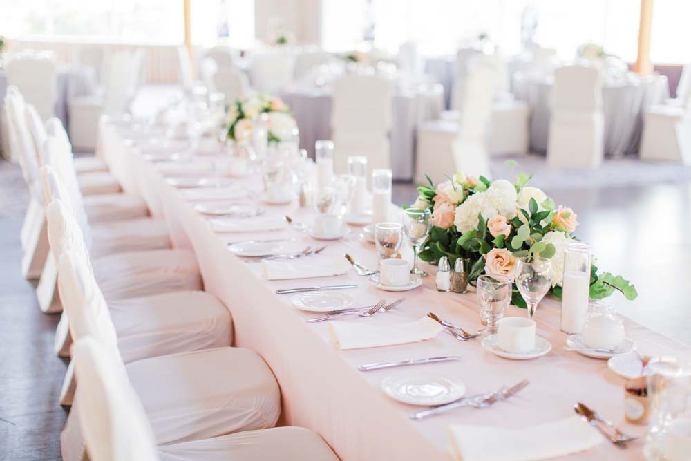 A Rustic, Whimsical Wedding in Tottenham - Tablescape