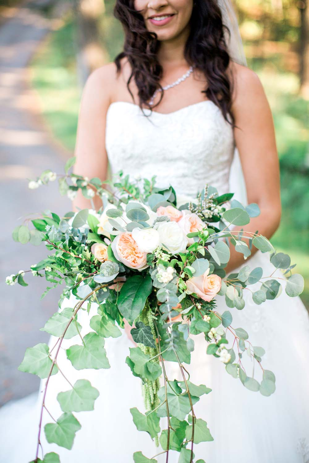 A Rustic, Whimsical Wedding in Tottenham - Bouquet details