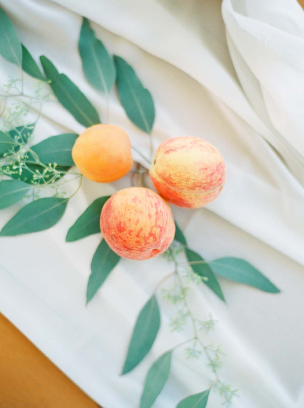 A Floral Peach Celebration in St. David's, Ontario - Peaches