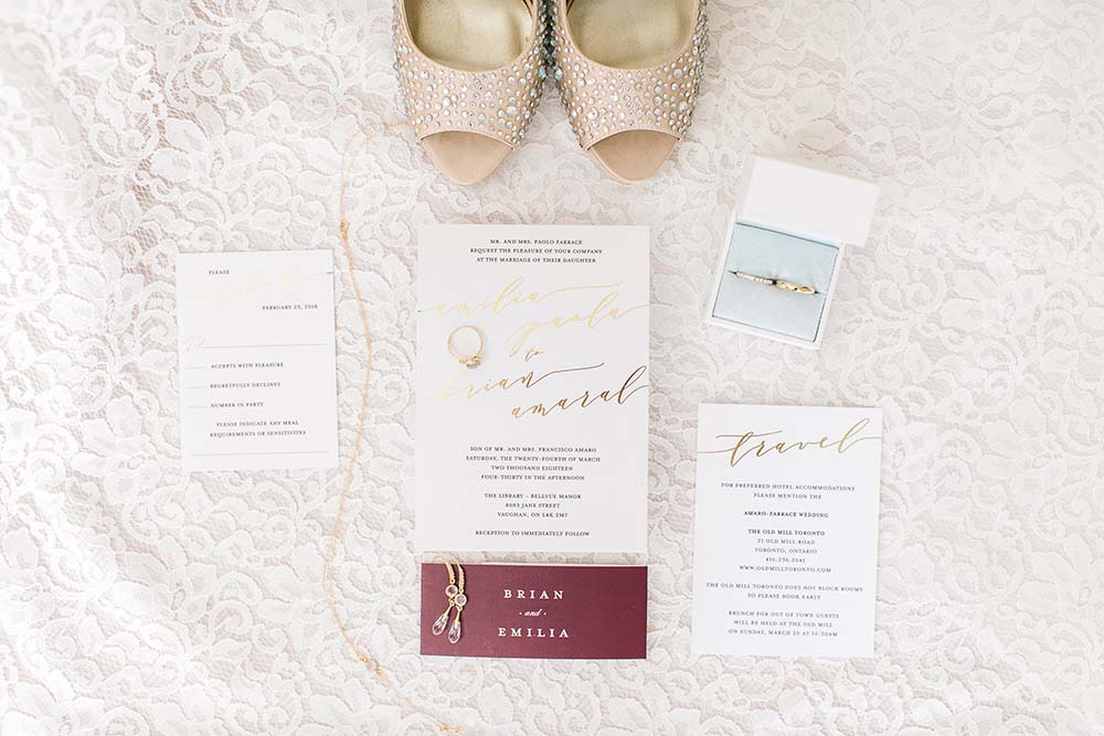 A Rustic Glam Wedding in Vaughan, Ontario - Shoes
