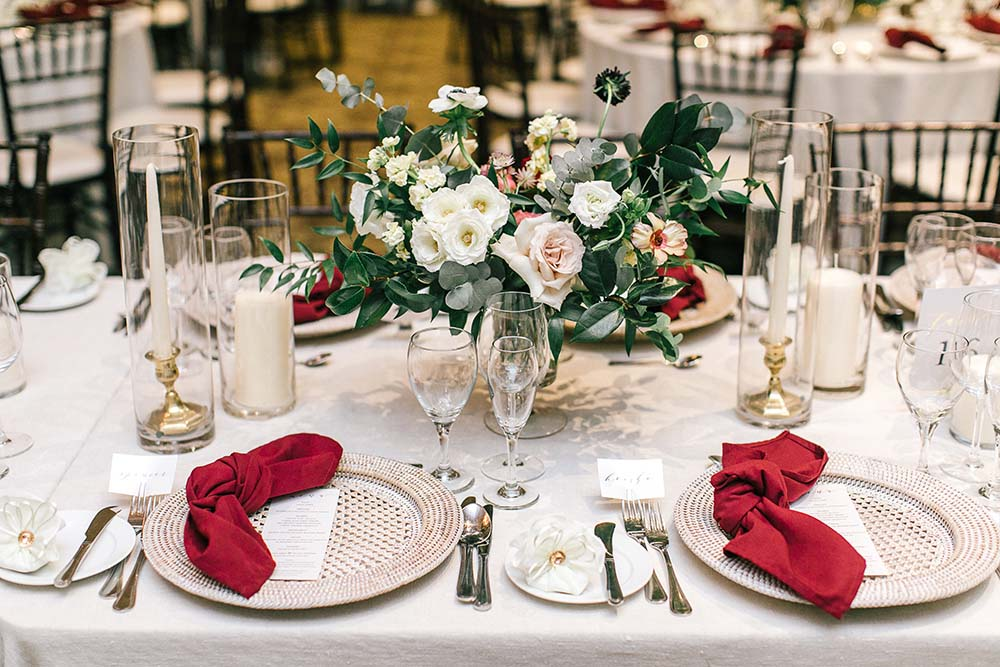 A Rustic Glam Wedding in Vaughan, Ontario - Table Setting