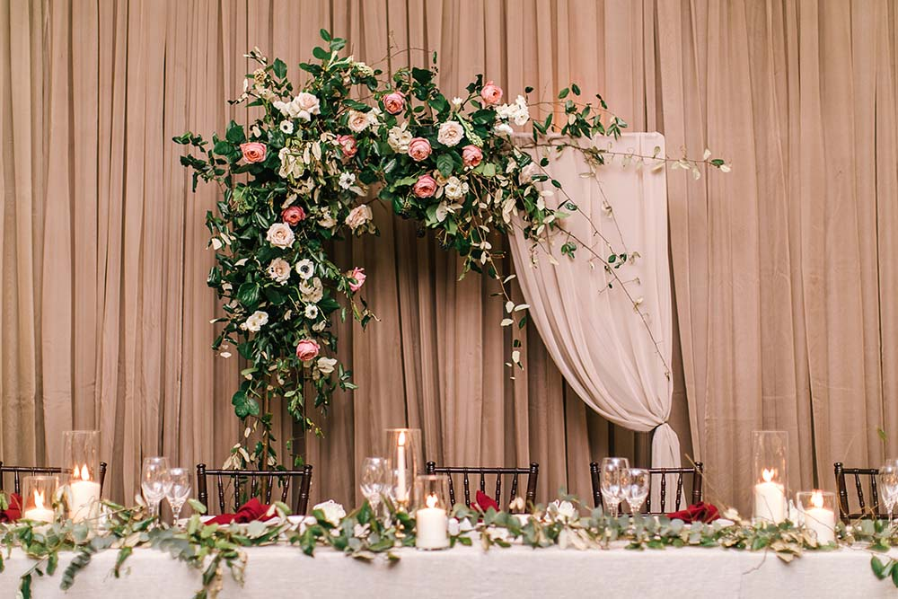A Rustic Glam Wedding in Vaughan, Ontario - Arch