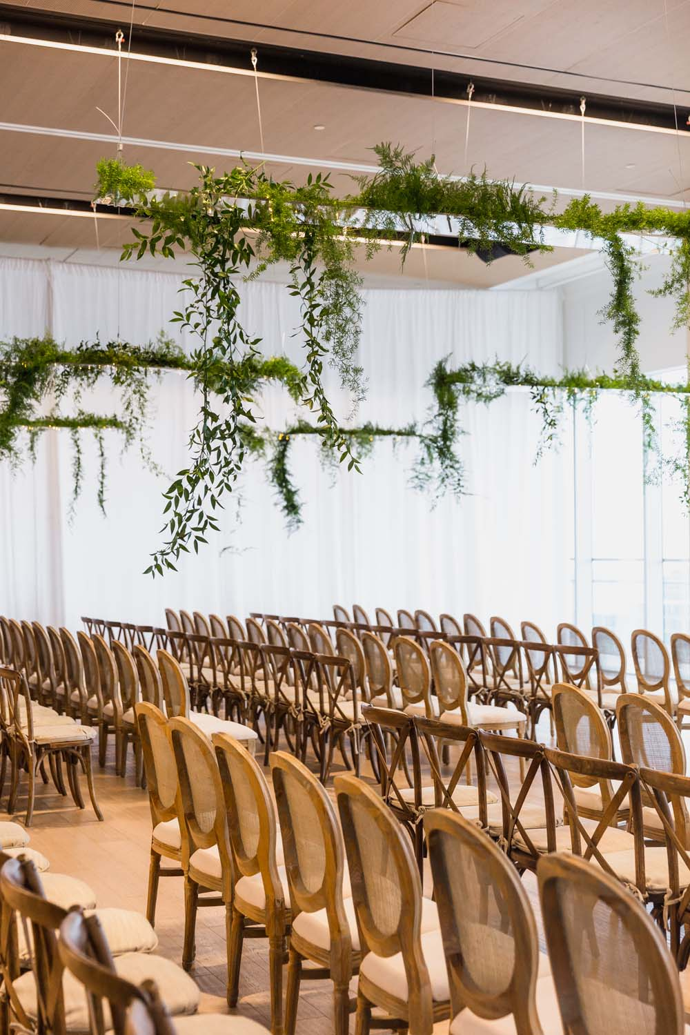 This Toronto Wedding Brings Nature to the City - Seating