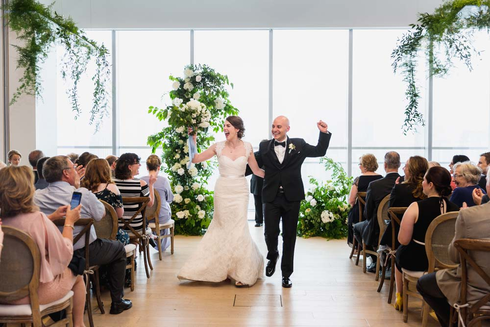 This Toronto Wedding Brings Nature to the City - Aisle
