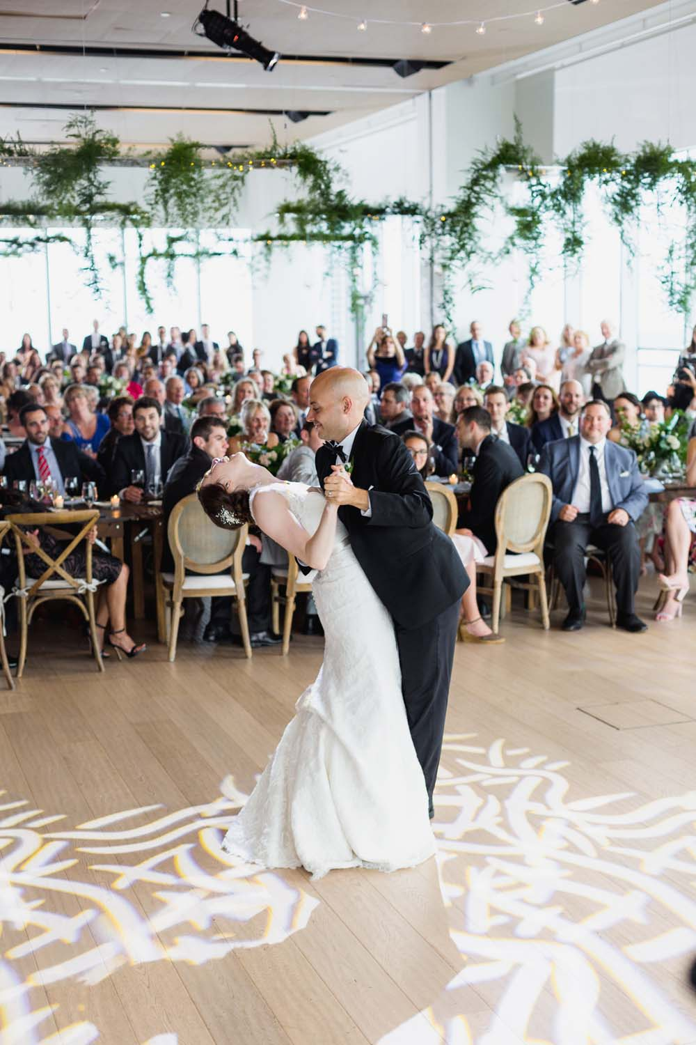 This Toronto Wedding Brings Nature to the City - Dance