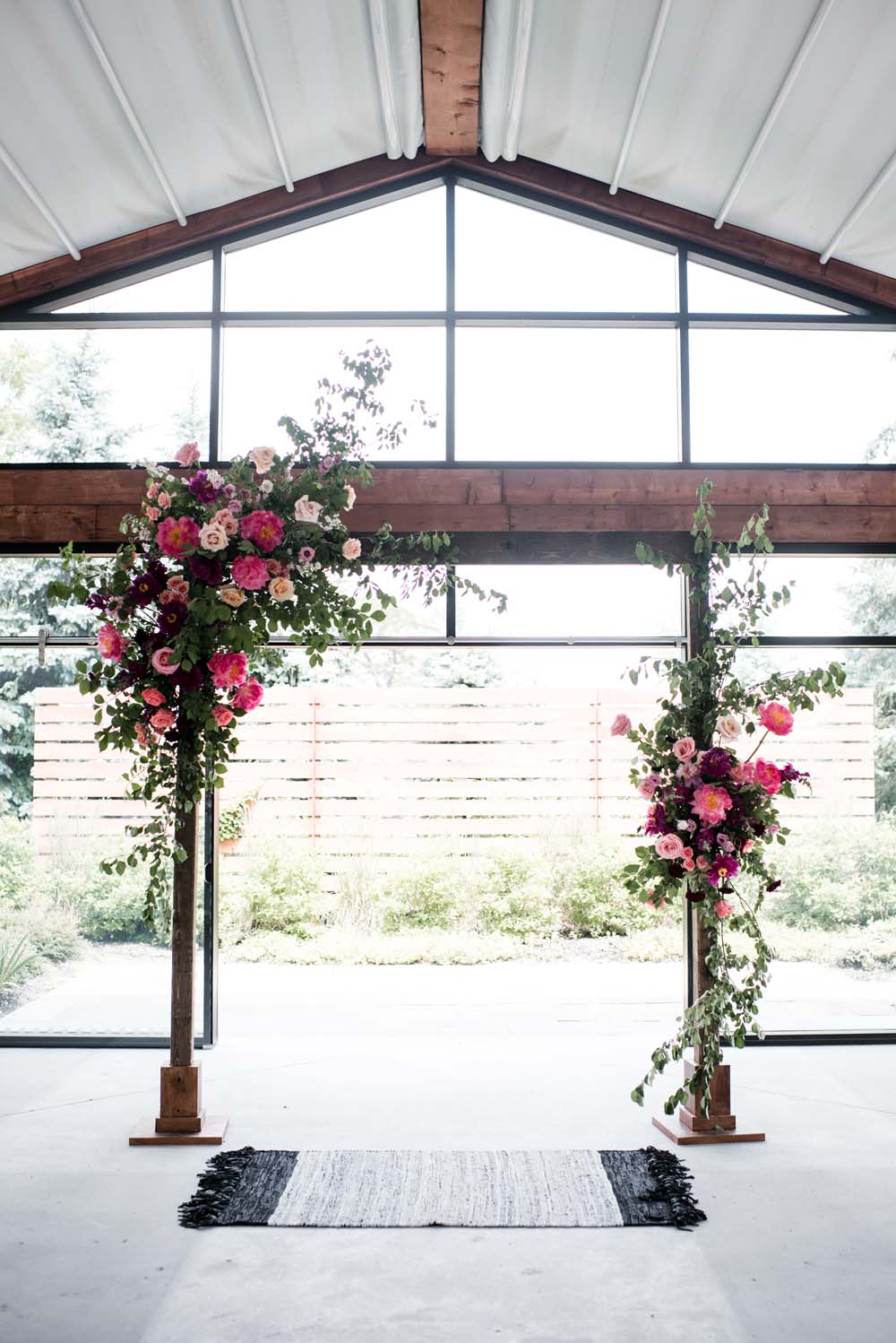 A Bold and Industrial Chic Wedding in Cambridge, Ontario - Arch