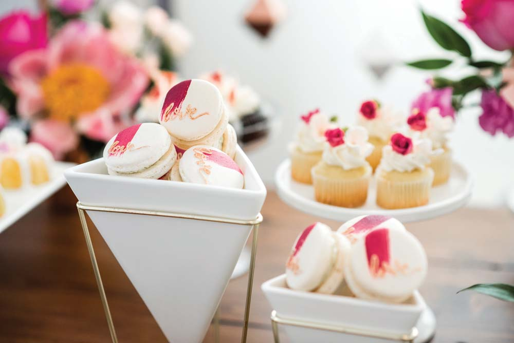 A Bold and Industrial Chic Wedding in Cambridge, Ontario - Desserts