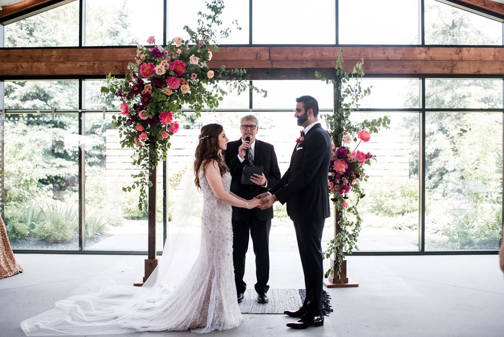 A Bold and Industrial Chic Wedding in Cambridge, Ontario - Vows