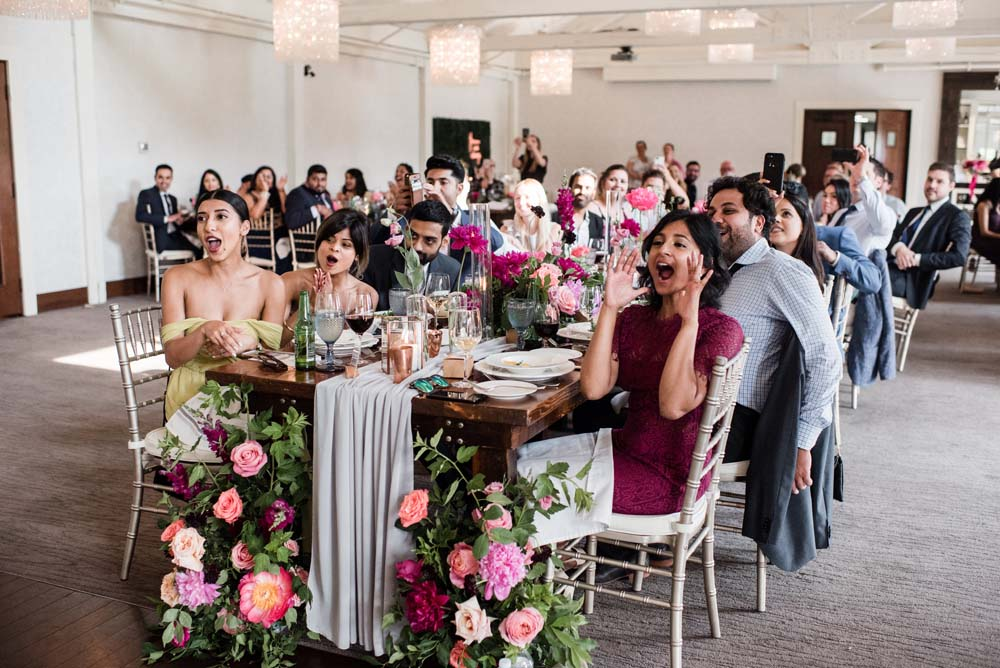 A Bold and Industrial Chic Wedding in Cambridge, Ontario - Guests