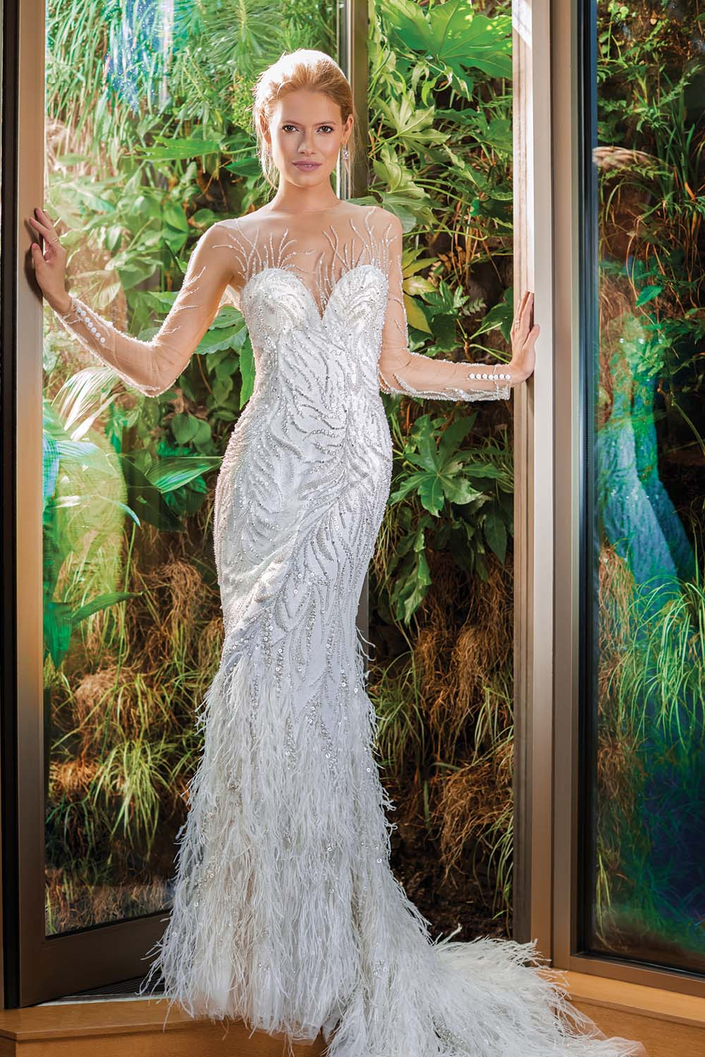 London Is The Perfect Backdrop For These Haute Bridal Gowns - Demetrios Dress