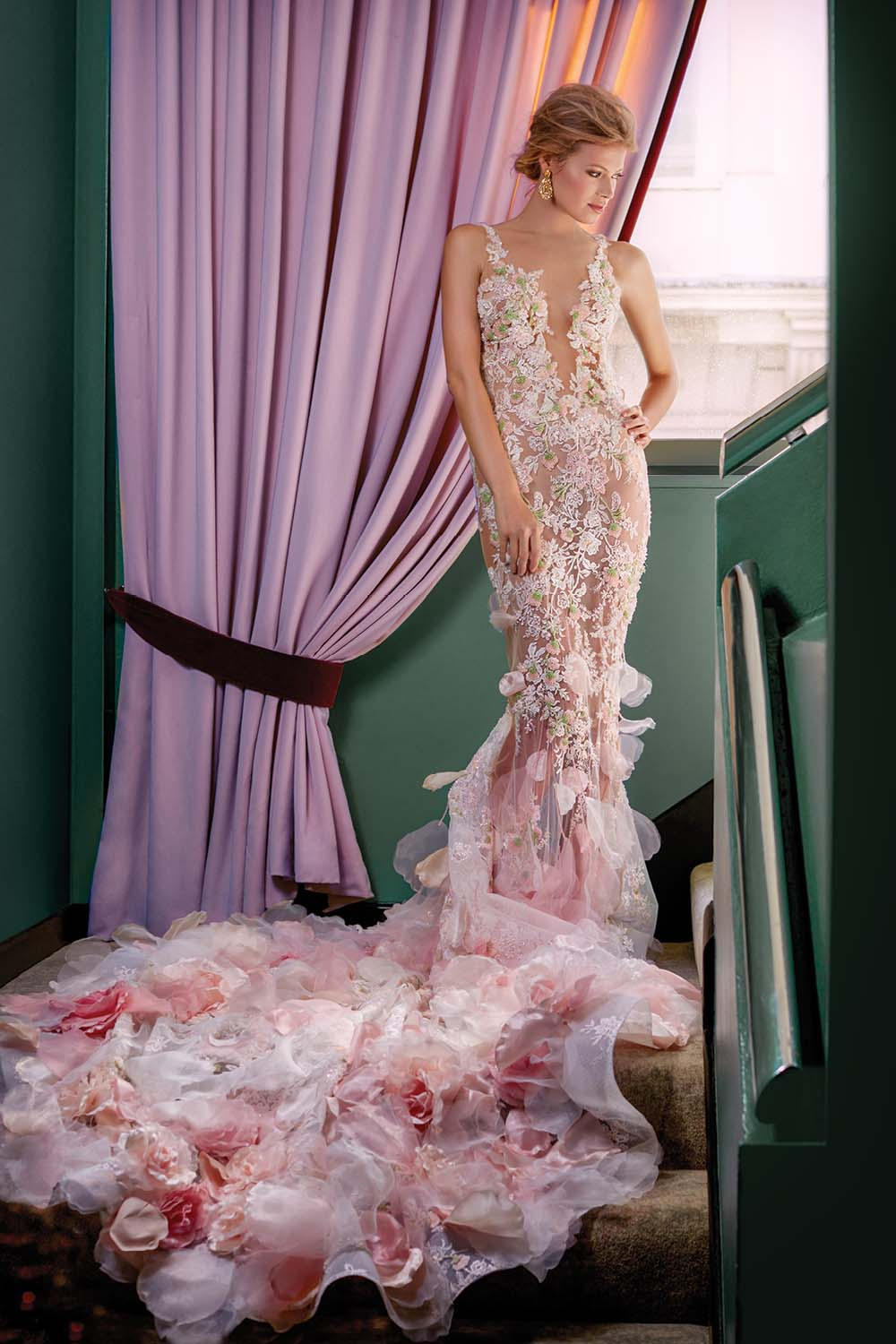 London Is The Perfect Backdrop For These Haute Bridal Gowns - Pronovias Dress