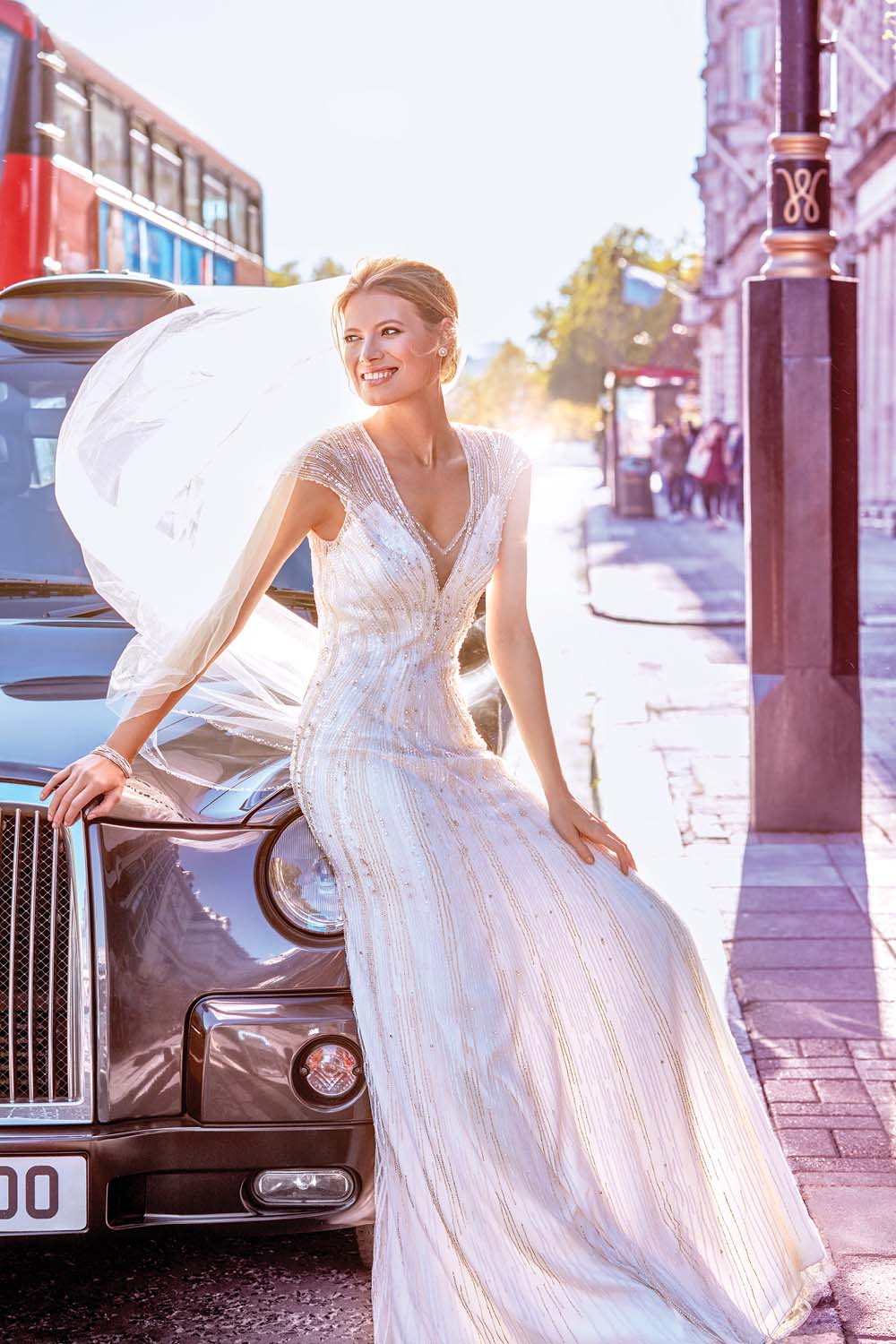 London Is The Perfect Backdrop For These Haute Bridal Gowns - Jenny Packham Dress