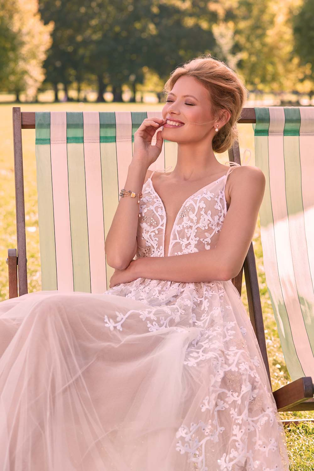 London Is The Perfect Backdrop For These Haute Bridal Gowns - Riki Dalal from Valencienne Dress
