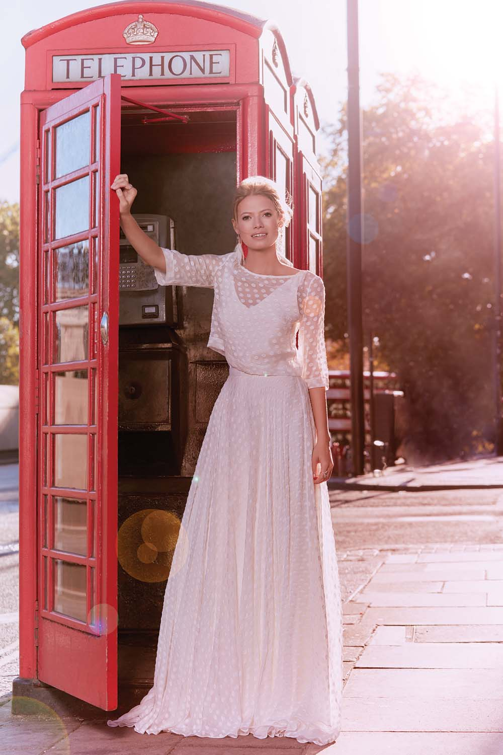 London Is The Perfect Backdrop For These Haute Bridal Gowns - Charlie Brear Dress