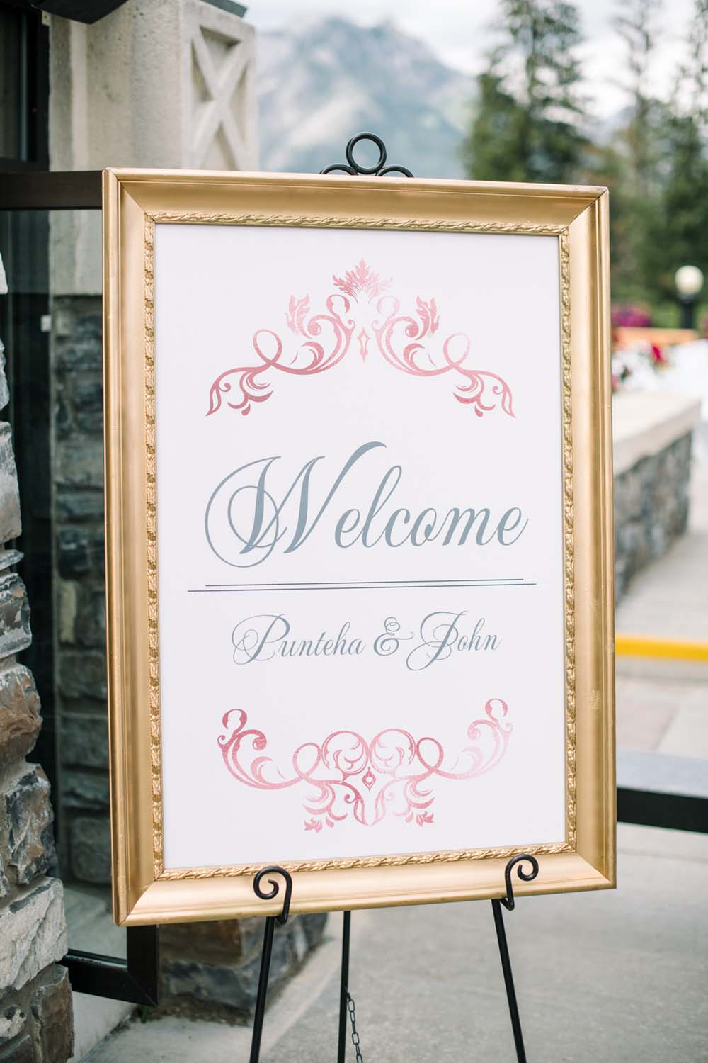 A Regal Fairytale Wedding in Banff, Alberta - Welcome