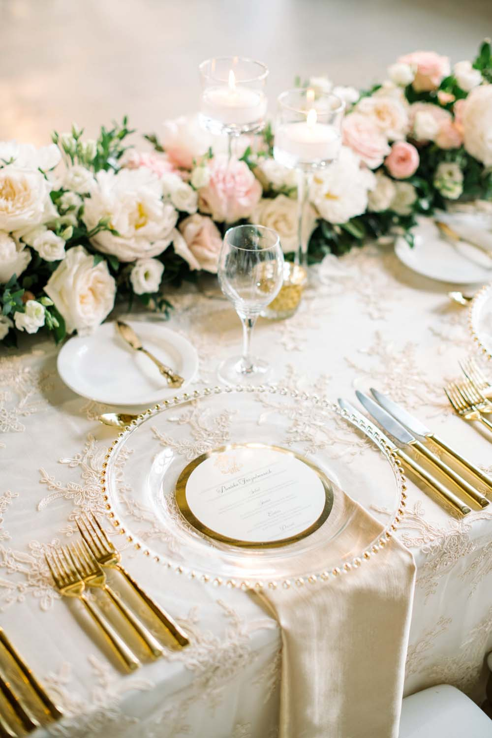 A Regal Fairytale Wedding in Banff, Alberta - Place Setting