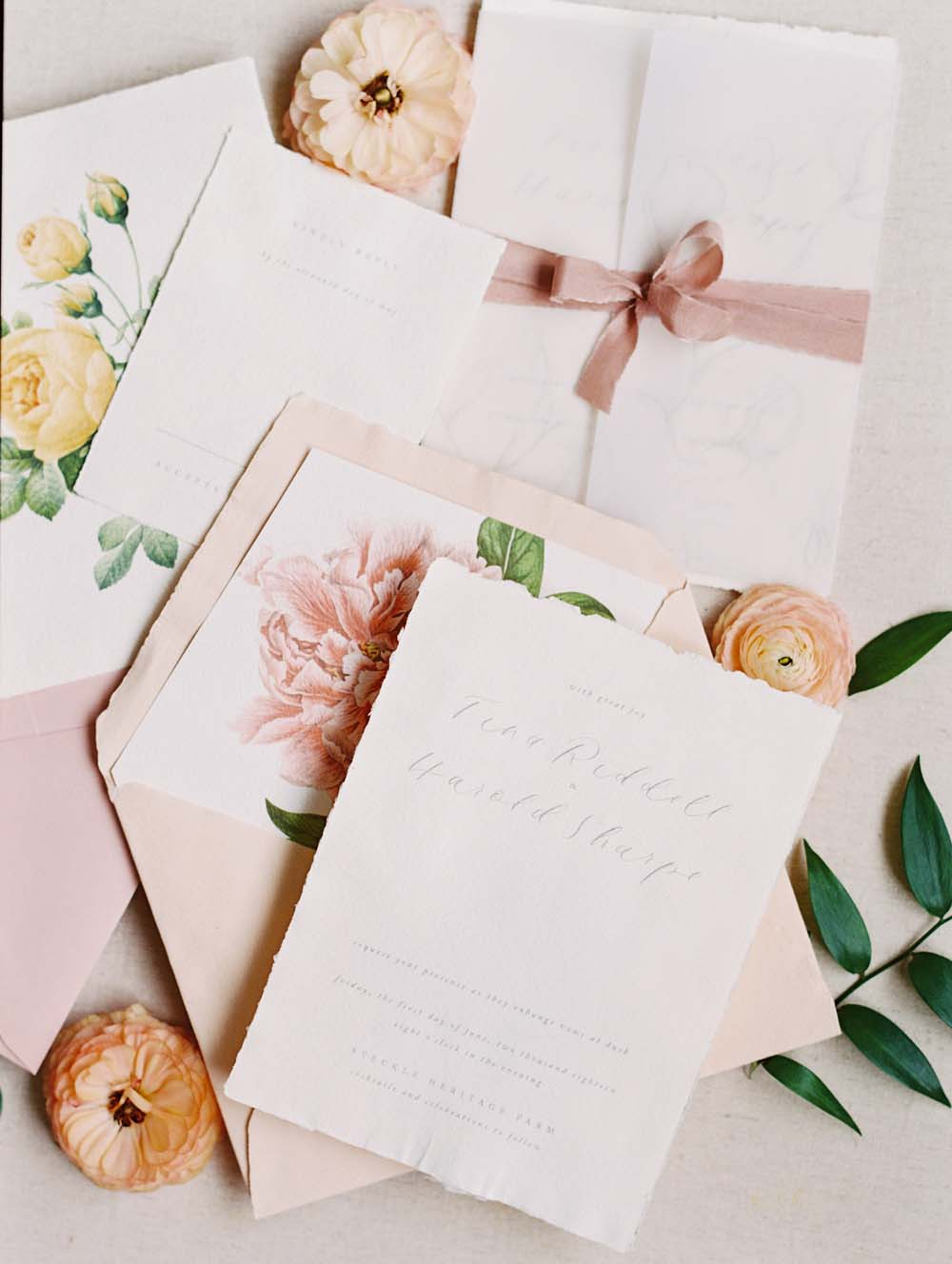 A Quirky Non-Traditional Wedding in Kitchener, Ontario - The invitations
