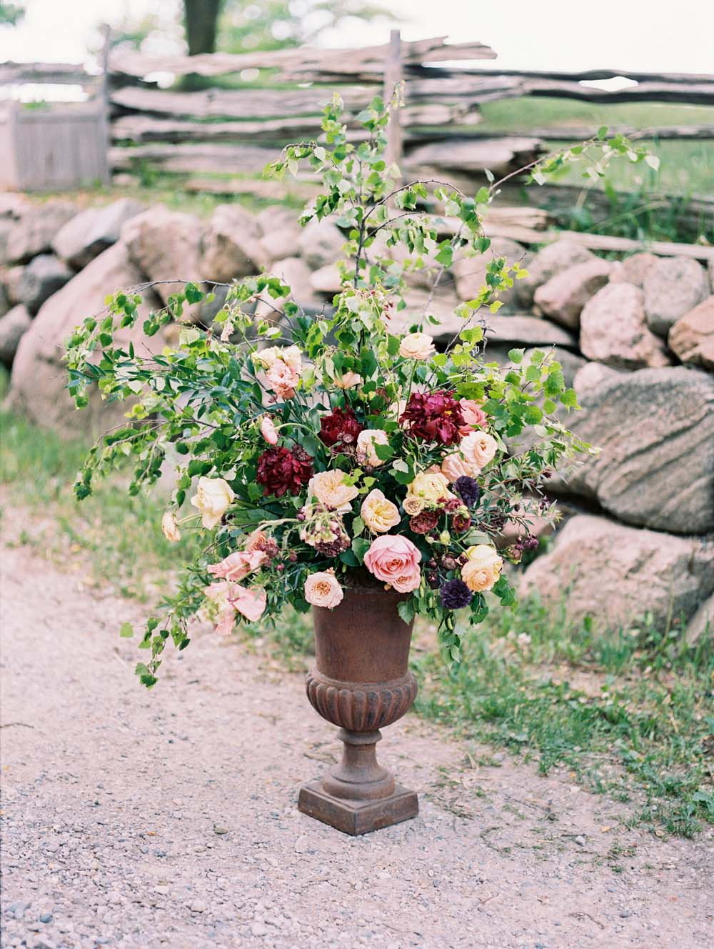 A Quirky Non-Traditional Wedding in Kitchener, Ontario - floral arrangement