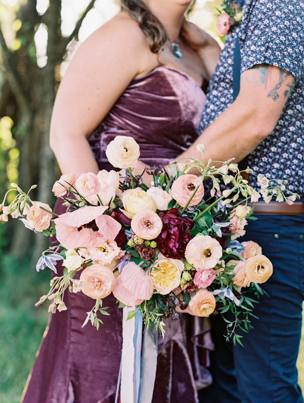 A Quirky Non-Traditional Wedding in Kitchener, Ontario - Bouquet