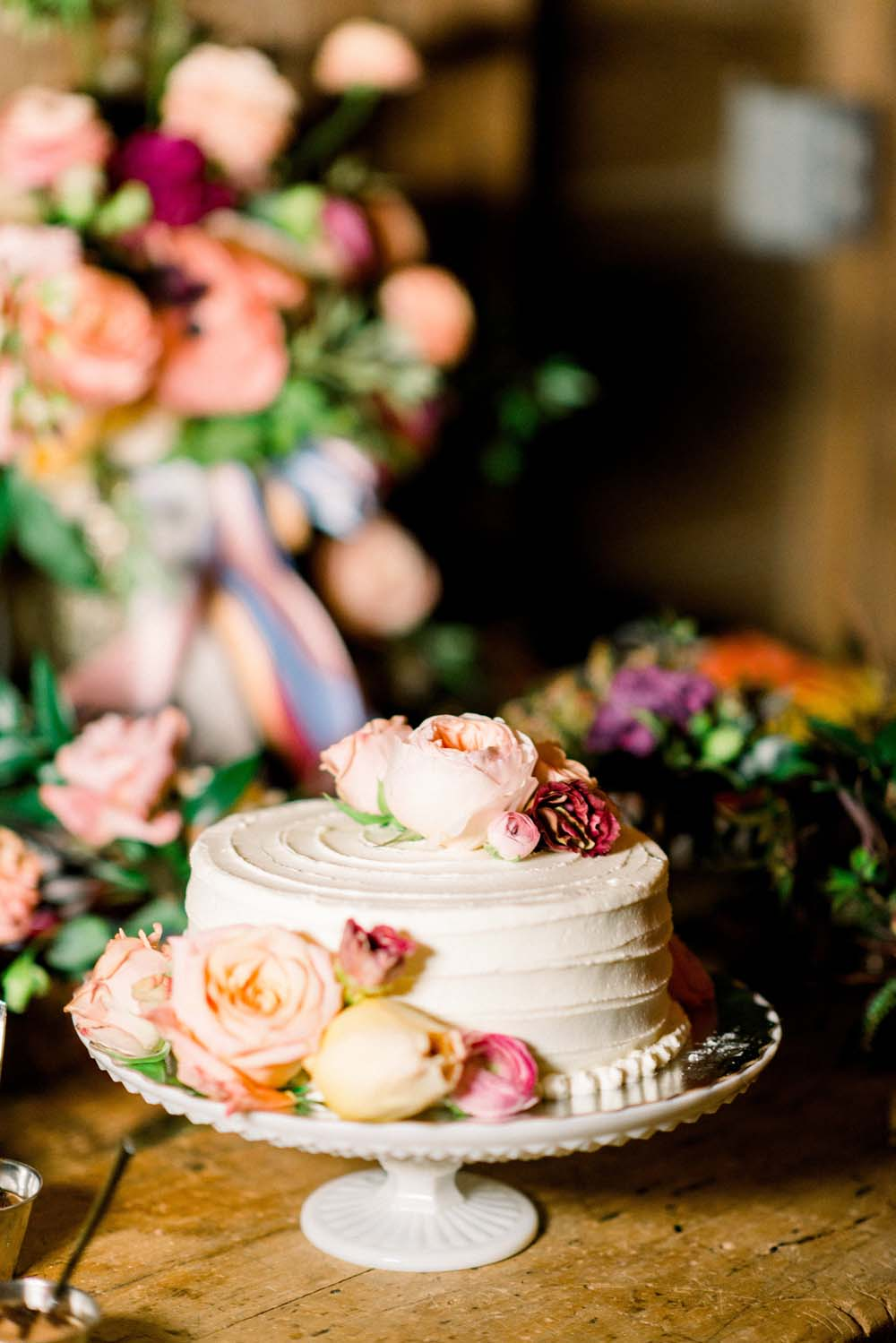 A Quirky Non-Traditional Wedding in Kitchener, Ontario - Cake