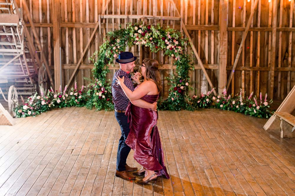 A Quirky Non-Traditional Wedding in Kitchener, Ontario - First dance