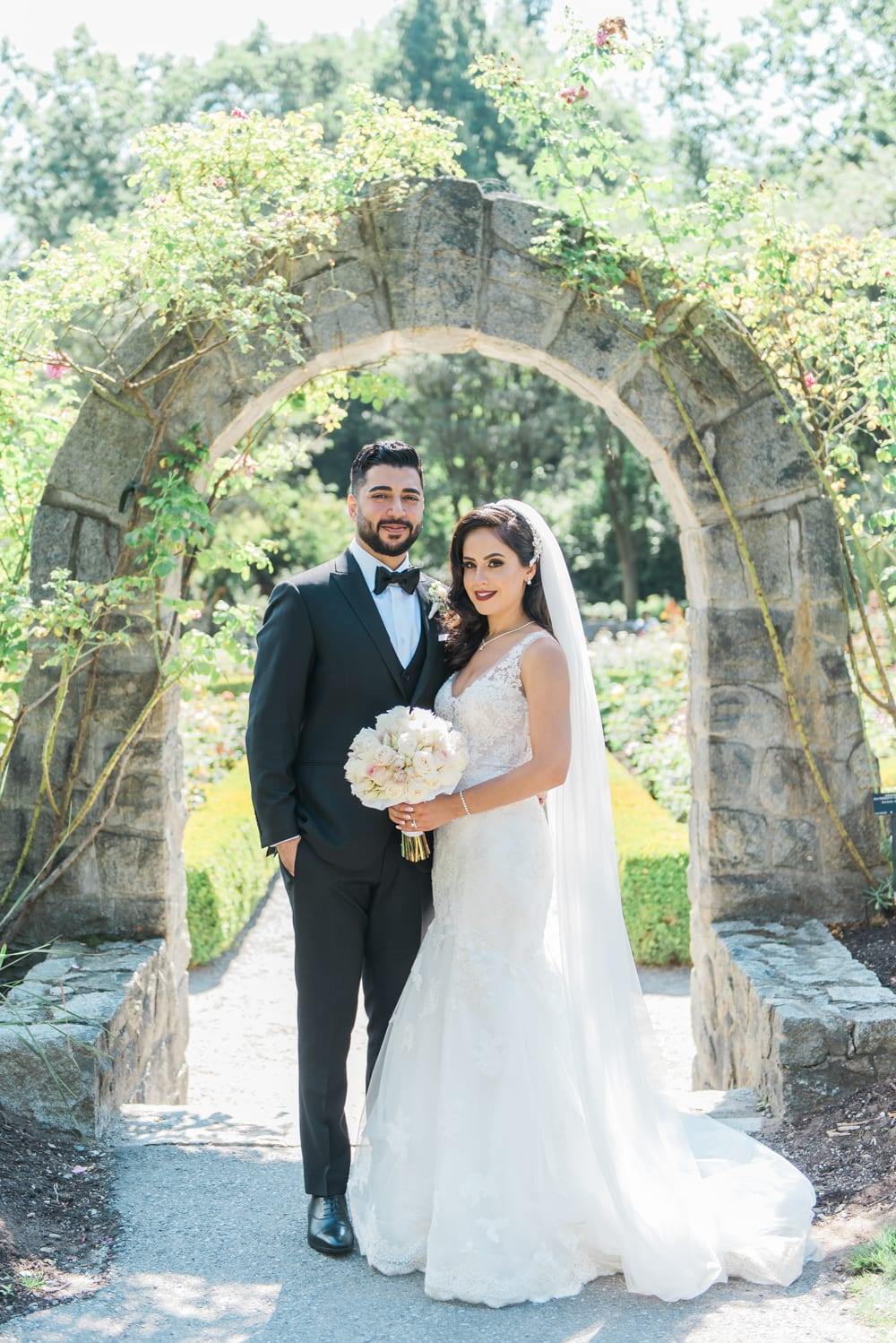 A Vintage Persian Wedding in Vancouver - Newlyweds