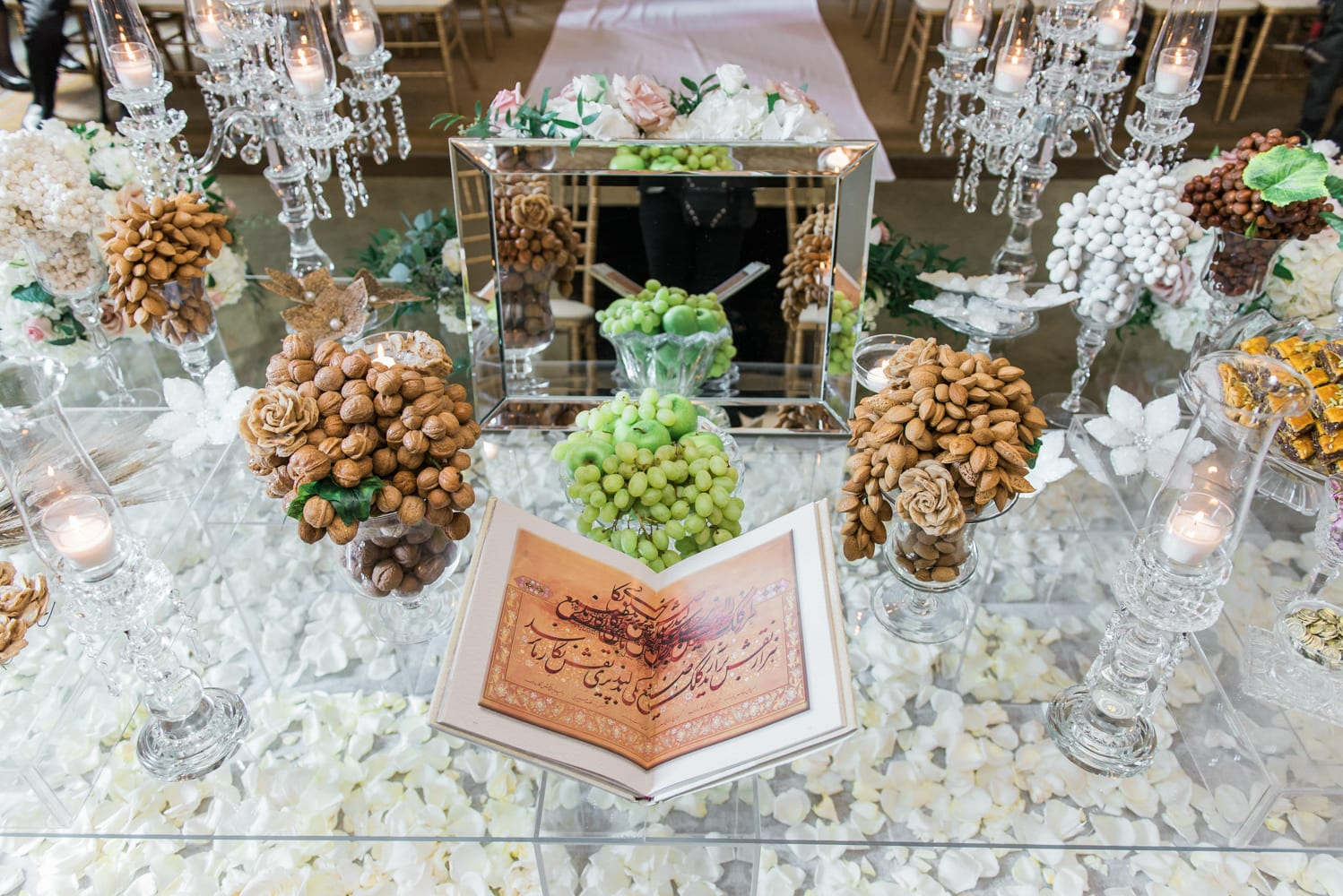 A Vintage Persian Wedding in Vancouver - Sofreh