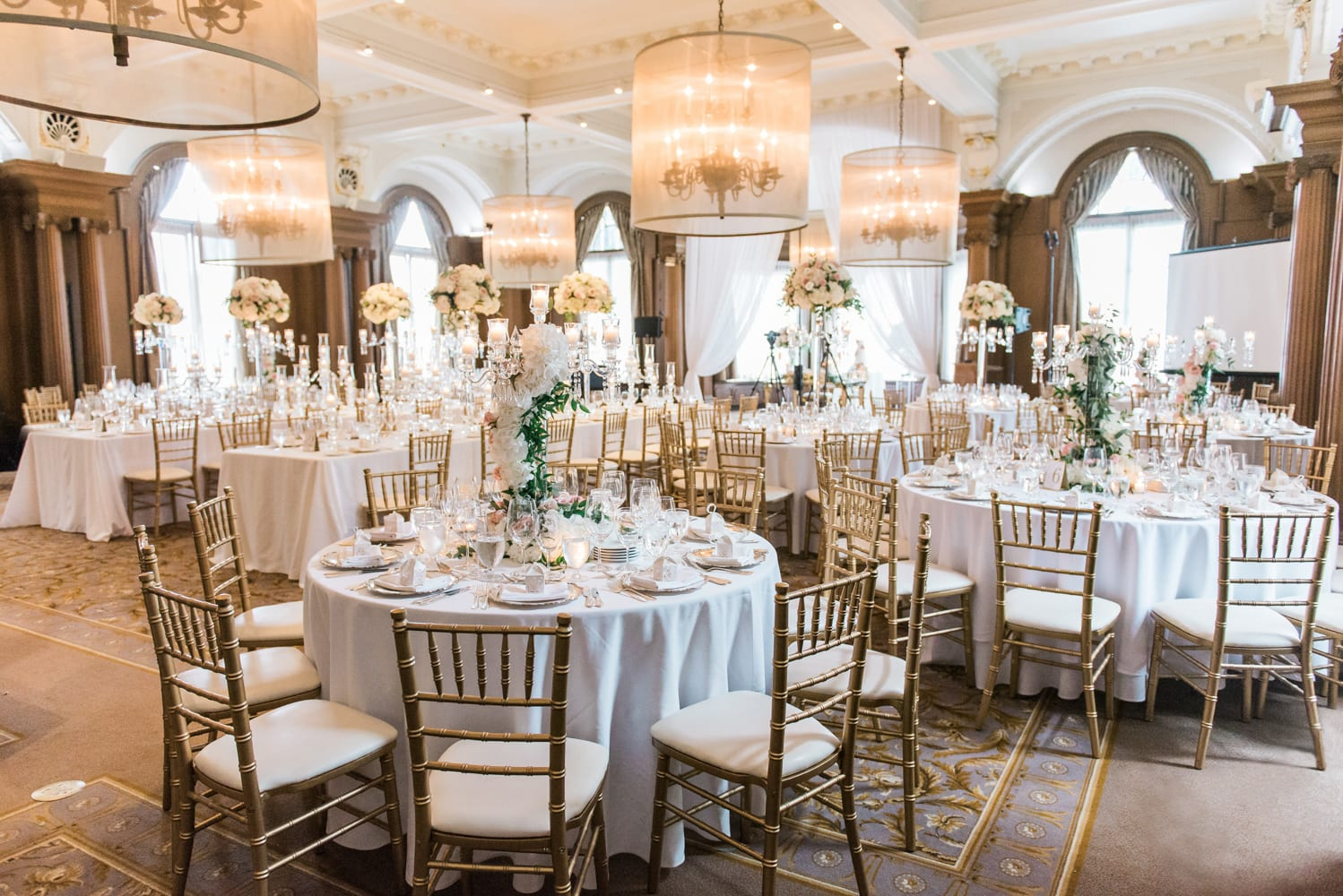 A Vintage Persian Wedding in Vancouver - Dining room