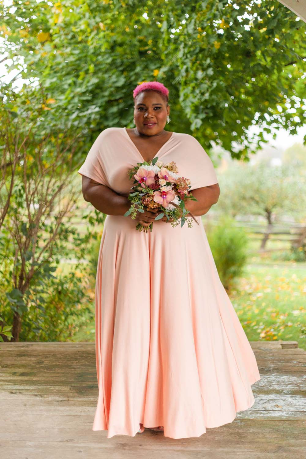 Henkaa Spring/Summer 2019 Bridesmaid Dresses - Coral by the Trees