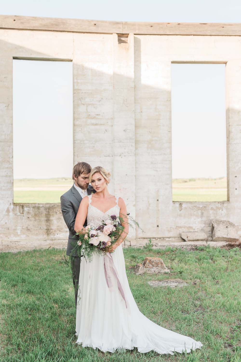 A Romantic Themed Shoot Inspired by Ruins - Couple