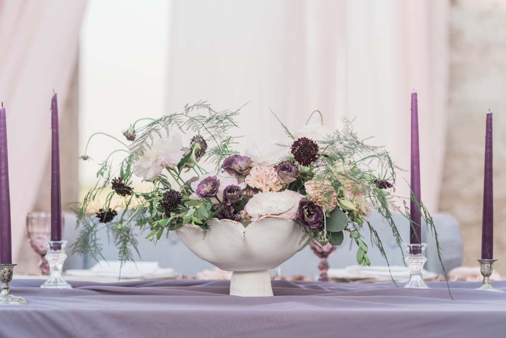 A Romantic Themed Shoot Inspired by Ruins - Table Setting