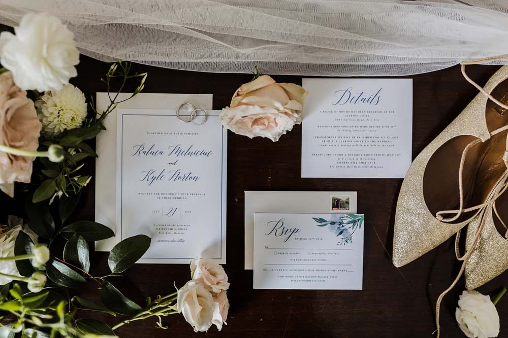 A Whimsical Wedding at Windmill Point, Ontario - Invitations