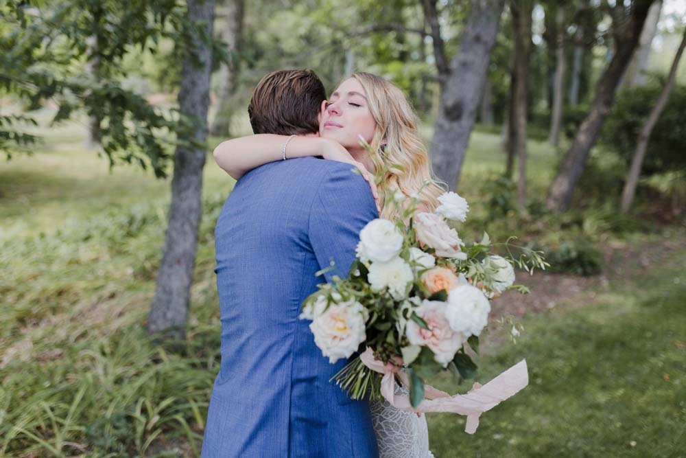 A Whimsical Wedding at Windmill Point, Ontario - Embrace